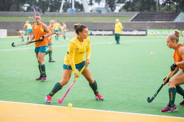 Hockey Centre - Australia vs China - Photgraphy by Eden Connell